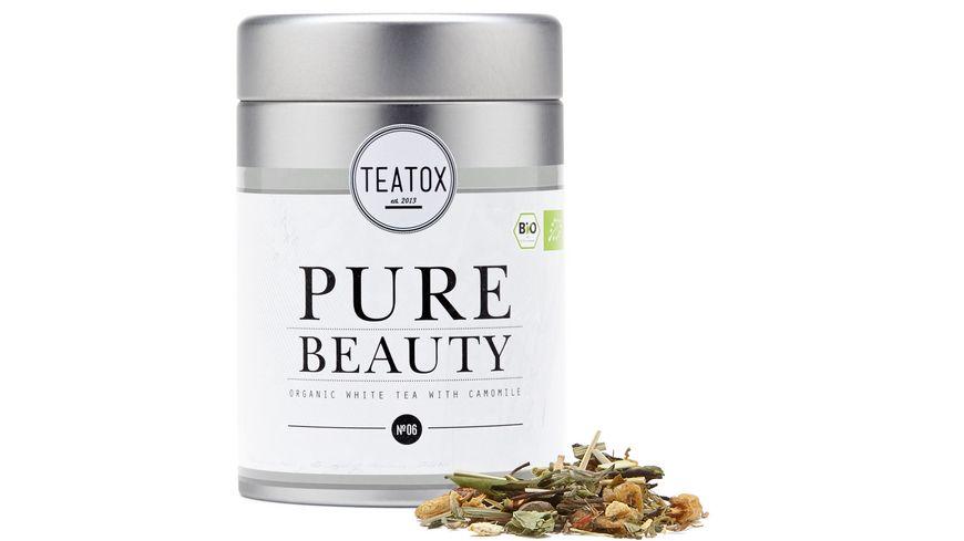 TEATOX Pure Beauty Bio weisser Tee mit Kamille