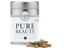 TEATOX Pure Beauty Bio weisser Tee mit Kamille Loser Tee