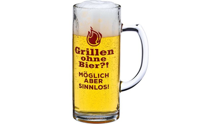 Bierseidel Grillen ohne Bier 0 3l