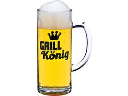 Bierseidel Grillkoenig 0 3l