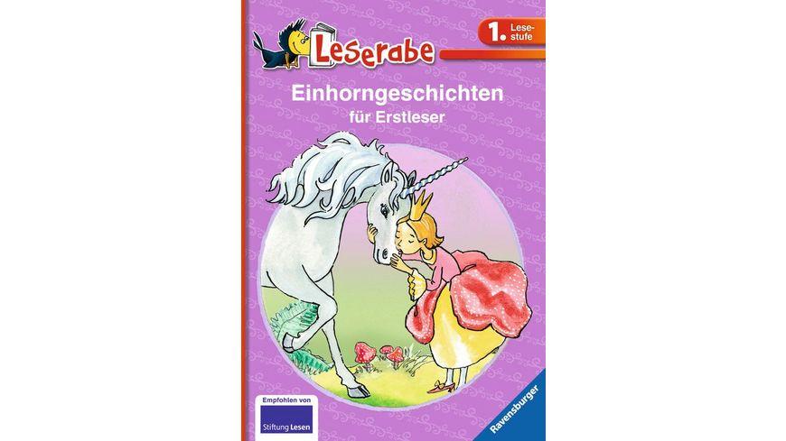 Ravensburger Leserabe Einhorngeschichten fuer Erstleser