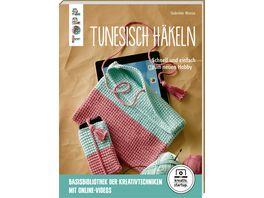Buch frechverlag Tunesisch haekeln kreativ startup