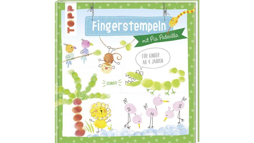 Buch frechverlag Fingerstempeln