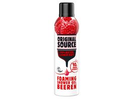 ORIGINAL SOURCE Foaming Shower Gel Beere