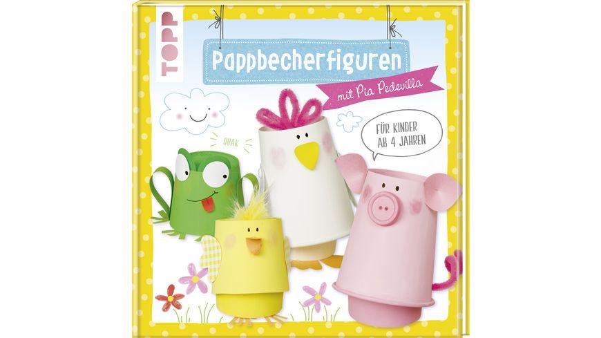 Buch frechverlag Pappbecherfiguren