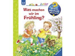Buch Ravensburger Buch Wieso Weshalb Warum Was machen wir im Fruehling