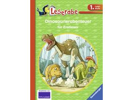 Buch Ravensburger Buch Leserabe Dinoabenteuer fuer Erstleser