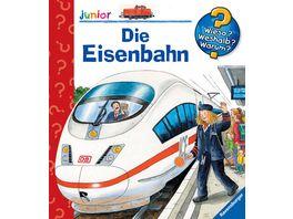 Ravensburger Wieso Weshalb Warum Die Eisenbahn