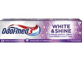 Odol med3 Zahncreme White Shine