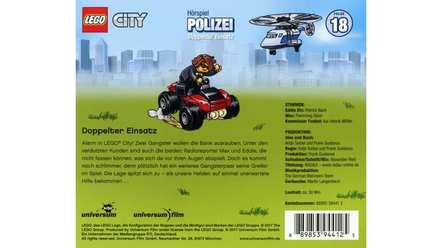 LEGO City 18 Polizei CD