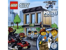 LEGO City 18 Polizei CD