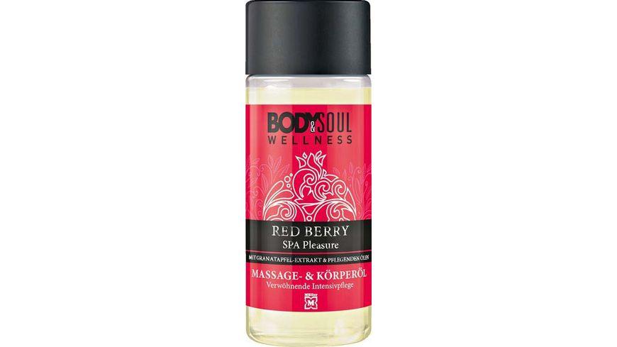 BODY SOUL Massage und Koerperoel Red Berry