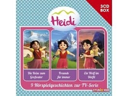 Heidi 3 CD Hoerspielbox Vol 1 Cgi