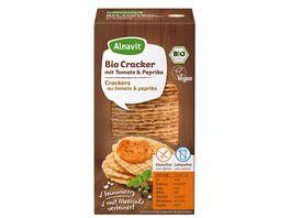 Alnavit Bio Cracker mit Tomate Paprika