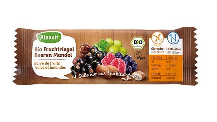 Alnavit Bio Fruchtriegel Beeren Mandel
