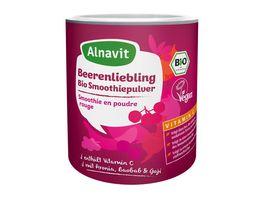 Alnavit Beerenliebling Bio Smoothiepulver