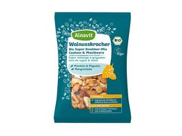 Alnavit Walnusskracher Bio Super Knabber Mix
