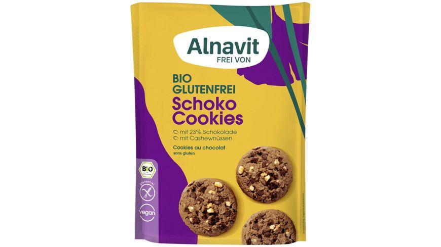Alnavit Bio Schoko Cookies - glutenfrei