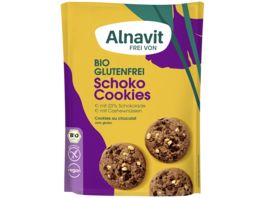 Alnavit Bio Schoko Cookies glutenfrei