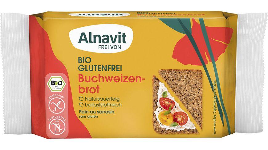 Alnavit Bio Buchweizenbrot - glutenfrei