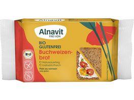 Alnavit Bio Buchweizenbrot glutenfrei