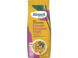 Alnavit Bio Hafer Knusper Muesli glutenfrei
