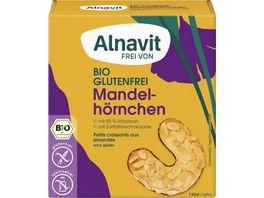 Alnavit Bio Mandelhoernchen glutenfrei