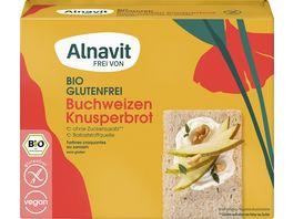 Alnavit Bio Knusperbrot Buchweizen glutenfrei