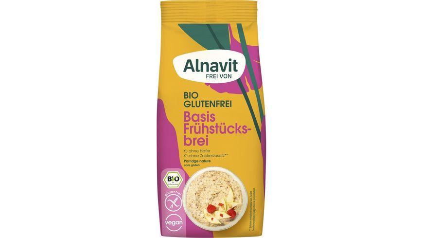 Alnavit Bio Basis Frühstücksbrei - glutenfrei