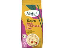 Alnavit Bio Basis Fruehstuecksbrei glutenfrei