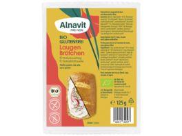 Alnavit Bio Laugenbroetchen glutenfrei