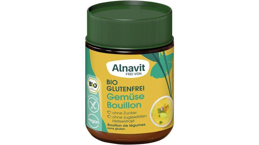 Alnavit Bio Gemüse Bouillon - glutenfrei