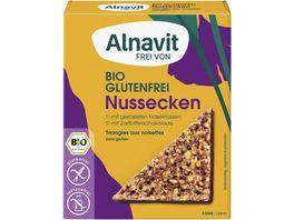 Alnavit Bio Nussecken glutenfrei