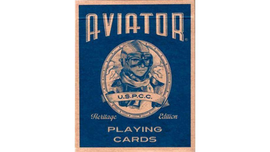 Bicycle Poker Kartendeck Aviator Kartenspiel