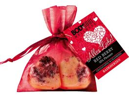 BODY SOUL Badeherzen Red Berry Alles Liebe