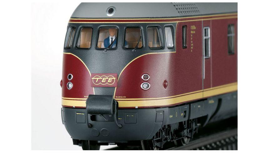 Maerklin 39082 TEE Diesel Triebwagenzug VT 08 5 Paris Ruhr