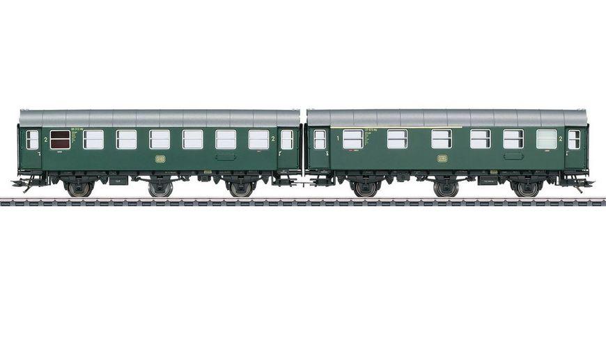 Maerklin 43173 Reisezugwagen Paar AB3ygeb mit B3ygeb