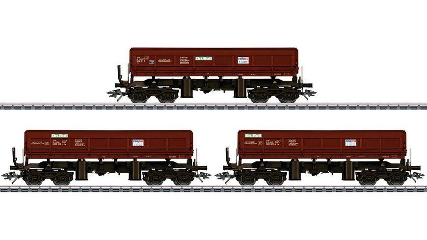 Maerklin 48456 Schuettgut Kippwagen Set Fas 680