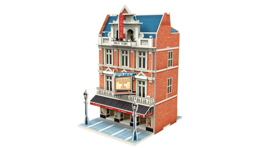 Maerklin 72782 Start up 3D Gebaeude Puzzle Theater
