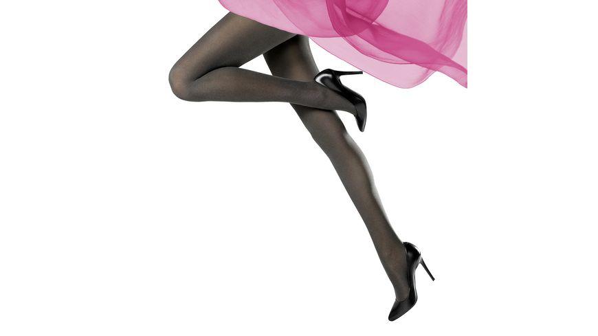 MOVE UP Damen Feinstrumpfhose Melange Look 40 DEN