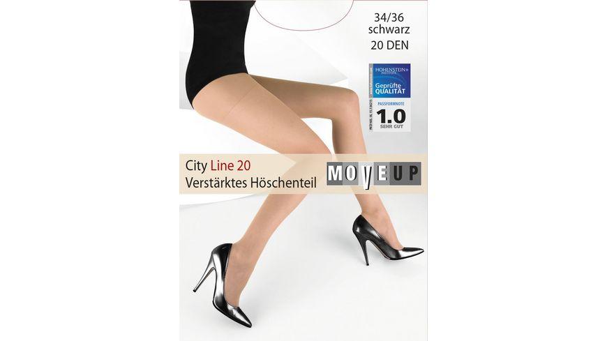 MOVE UP Feinstrumpfhose City Line 20
