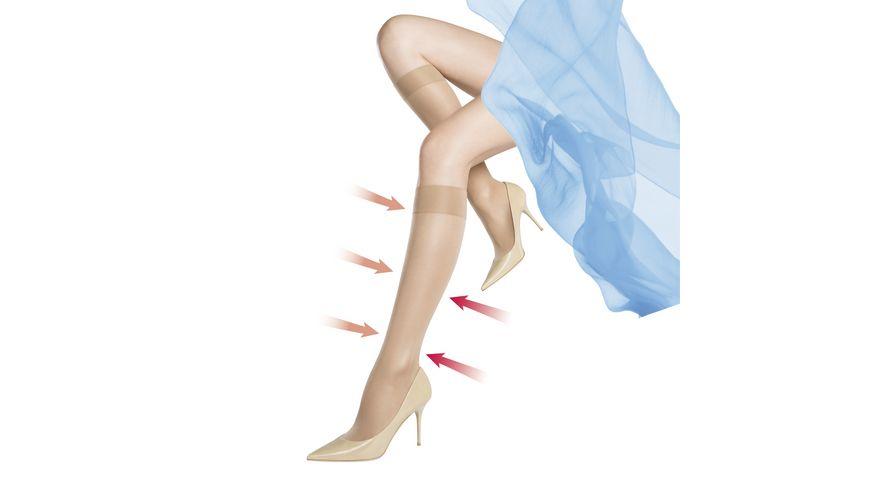 MOVE UP Damen Stuetzkniestruempfe Fit in Form 40 DEN