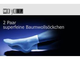 MOVE UP Baumwollsoeckchen Superfein