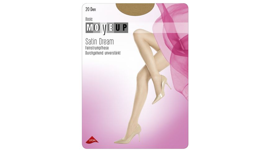 MOVE UP Feinstrumpfhose Satin Dream 20