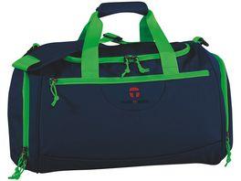 T I E Sporttasche Rom Navy Green