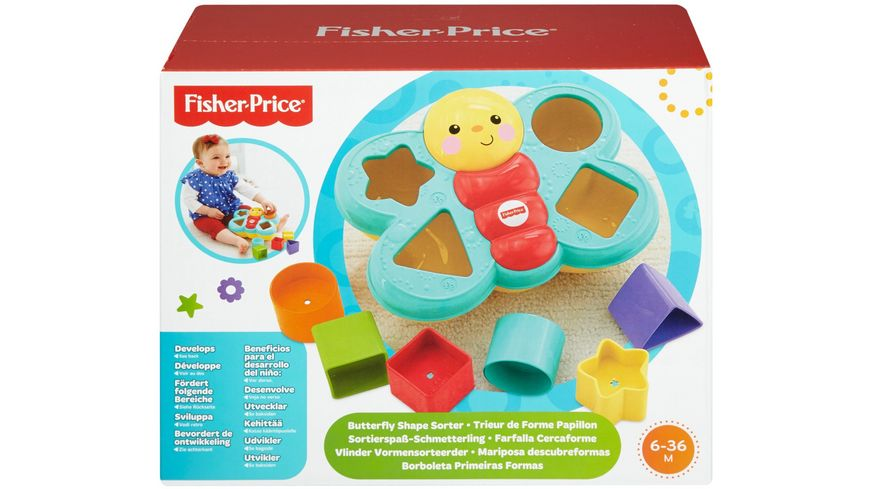Fisher Price Sortierspass Schmetterling