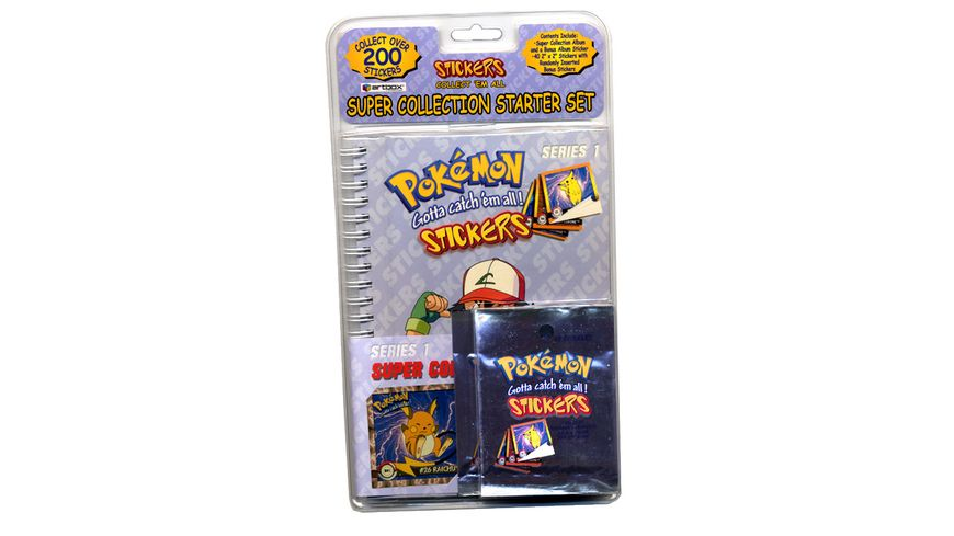 Pokemon Pokemon Artbox Stickeralbum
