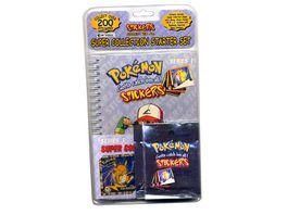 Pokemon Pokemon Artbox Stickeralbum