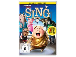 Sing exklusive Version inkl Magnet Set DVD