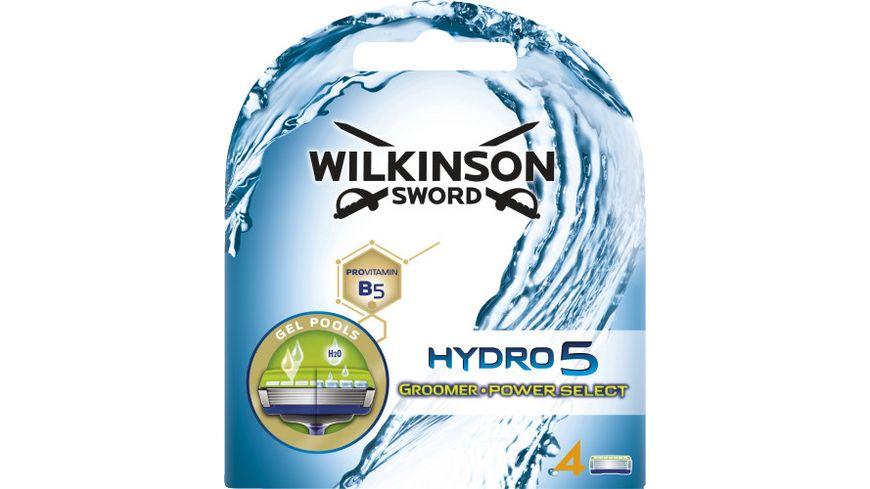 WILKINSON Sword Hydro 5 Groomer und Power Select Rasierklingen